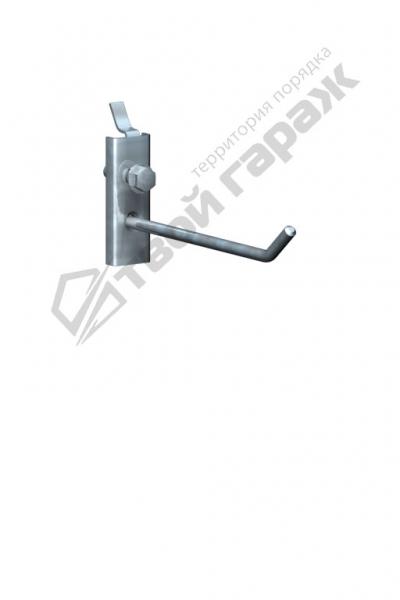 Крючок под саморез для перфорированных панелей оцинкованный 100 мм