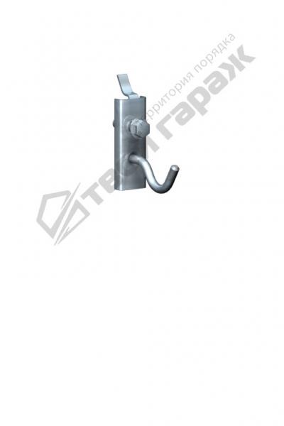 Крючок под саморез для перфорированных панелей оцинкованный 30 мм