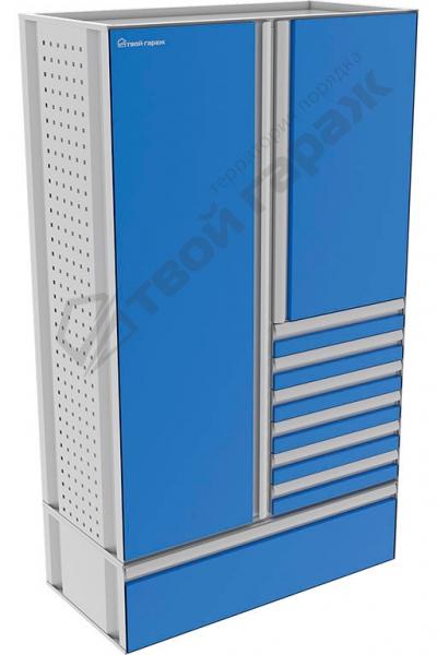 Шкаф хозяйственный комбинированный 1200х2040